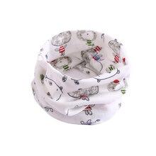 Лидер продаж; Детский Теплый хлопковый шарф шаль; зимний Удобный Шейный платок с рисунком из мультфильма; HD88