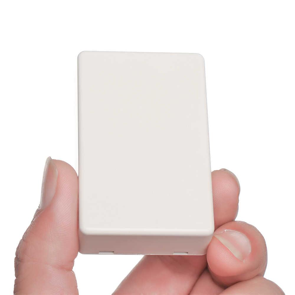 1PC Kualitas Tinggi Putih ABS Plastik Tahan Air Penutup Proyek Proyek Elektronik Instrumen Kotak Case Kandang Kotak 8 Ukuran