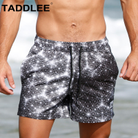 Taddlee Brand Men's Boardshorts Swimwear Short Surf Swim Beach Boxer Trunks Board Wear Swimsuits Man Quick Drying Bathing Suits
