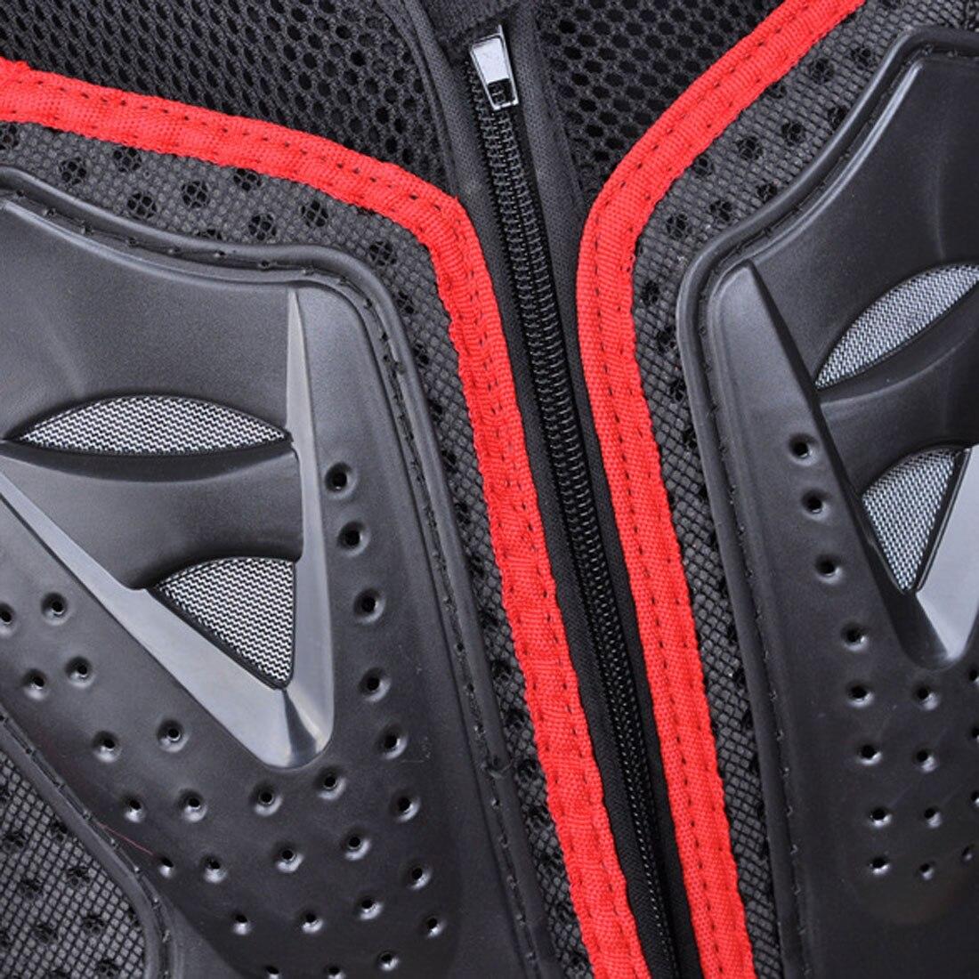 Dongzhen moto veste moto armure Protection Motocross vêtements veste croix dos/rouge armure protecteur course Automobile - 6