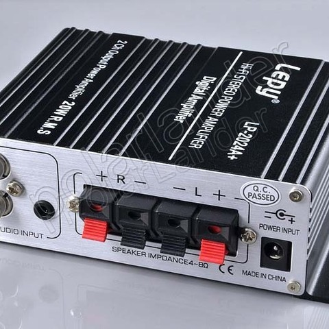 2ch output power amplier Stereo digital power amplifier HI-FI mini digital function 20W RMS X2 stereo power amplifier Islamabad