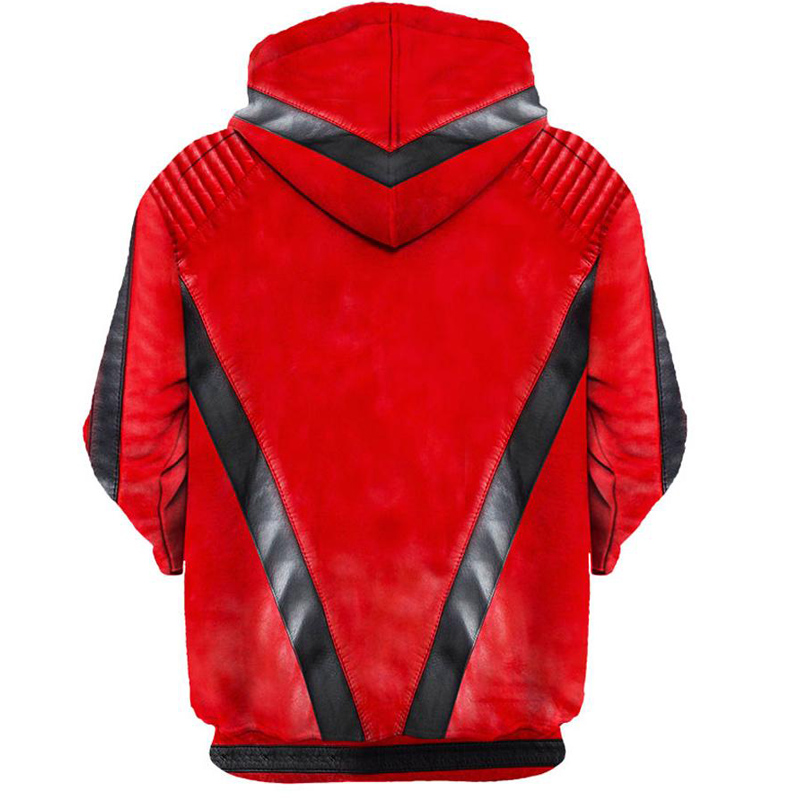 3d Hoodies Men Women Michael Jackson Thriller Jacket Printing Sweatshirt Hooded Streetwear Tops Tracksuit Mens Clothing Dropship