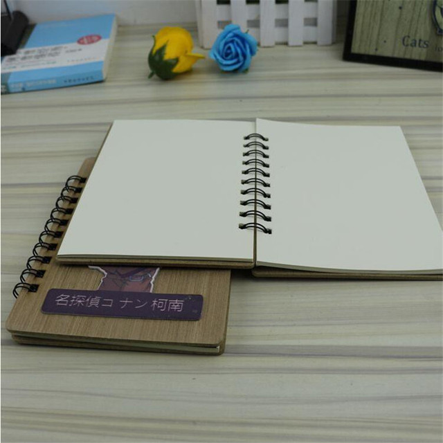 Hardcover Detective Conan Death Note School Supplies Spiral Notebook Creative Papelaria With Pen 40sheets Dokibook