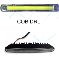 New Arrival High Power 2pcs New 12V 12W COB Car LED DRL Auto DRL Daytime Driving