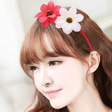 Girls Flower Cute Headbands Children Headwear Photo Props Party Hair Hoop Hairbands Kids Accessories