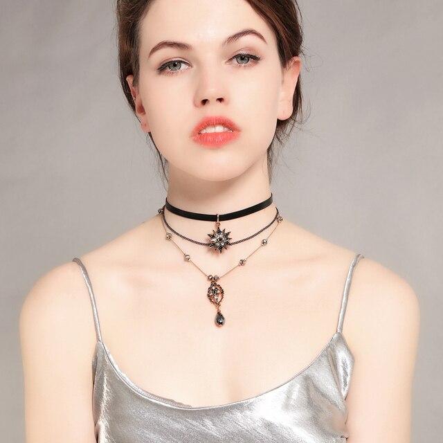 Three Layer Boho Style Necklace