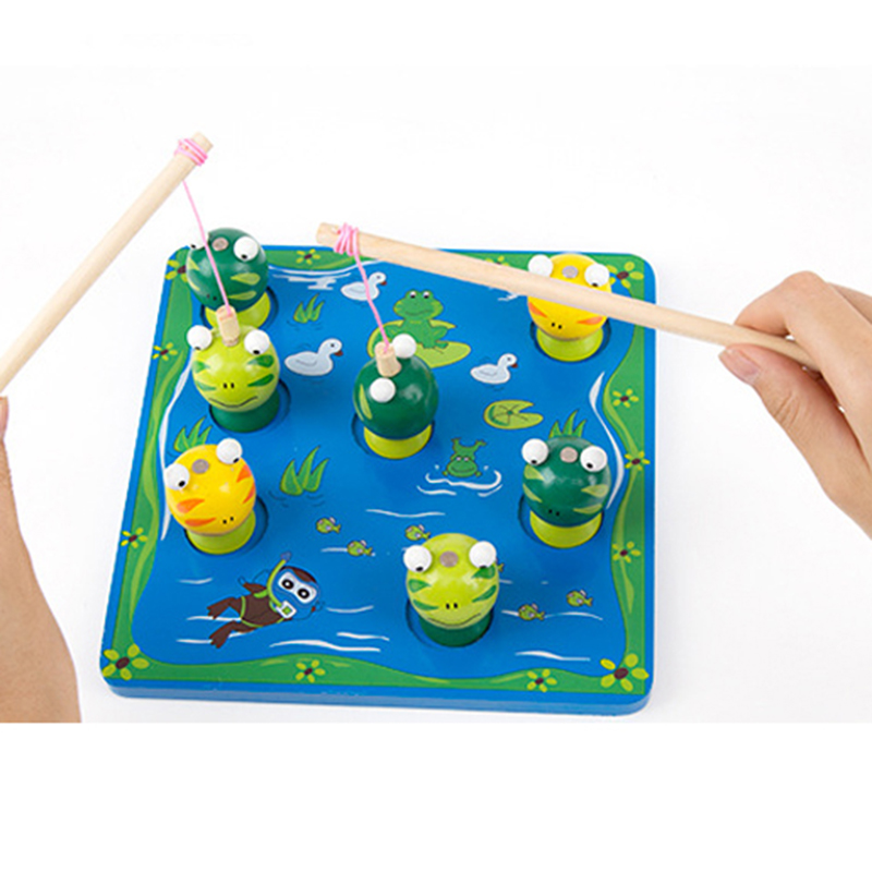 Aliexpress.com : Buy Frog Magnetic Toy 3D Fishing Toy ...