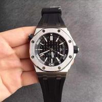 2019 top brand luxury mens wristwatch Royal Oak Ap series 15710ST black dial 42 mm aaa watch automatic mechanical watch for men