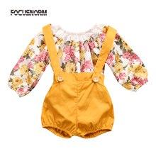 Princess Romper+Short Pants Jumpsuit Sunsuit Outfits Infant Baby Girl Playsuit Clothes
