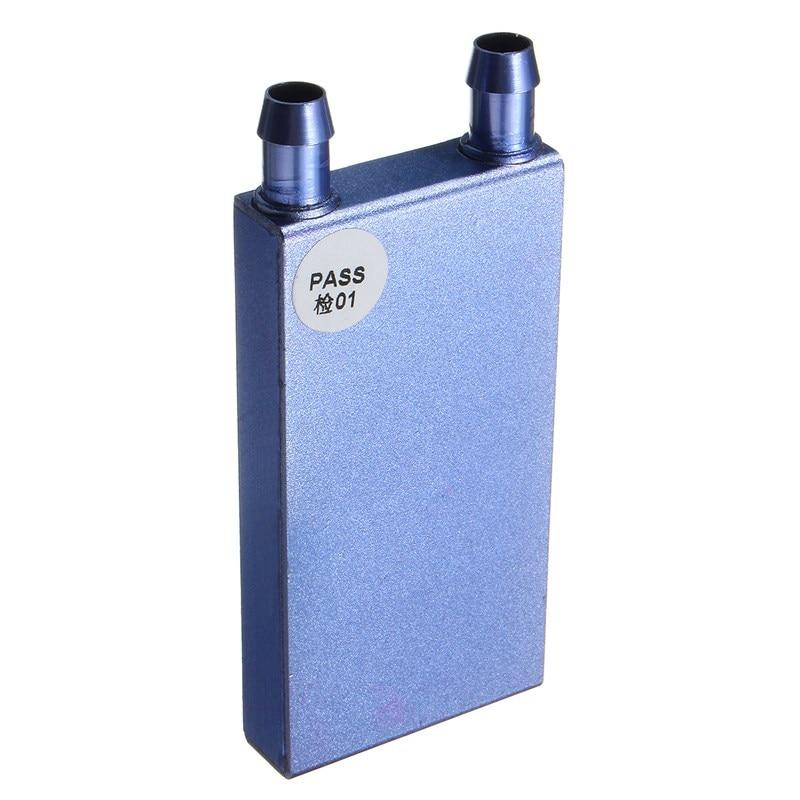 122*41*12mm Aluminium Water Cooling Waterblock Heatsink Block Liquid Cooler  For CPU GPU