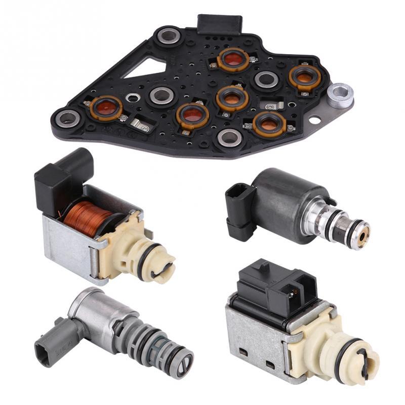 5Pcs Transmission Solenoid Kit Set EPC Shift TCC For GM
