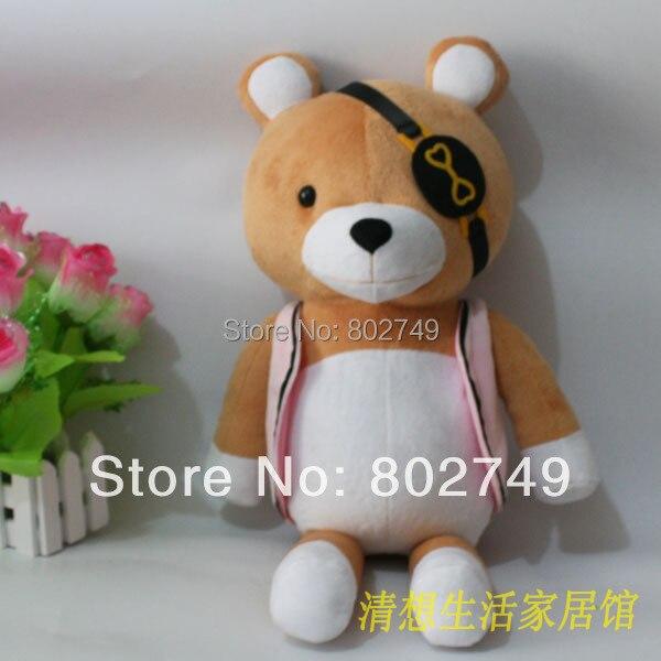 2020 DIABOLIK LOVERS Kanato Sakamaki Bear Plushie 100% Handmade Stuffed Plush Toy Cosplay Props 54cm Big Size