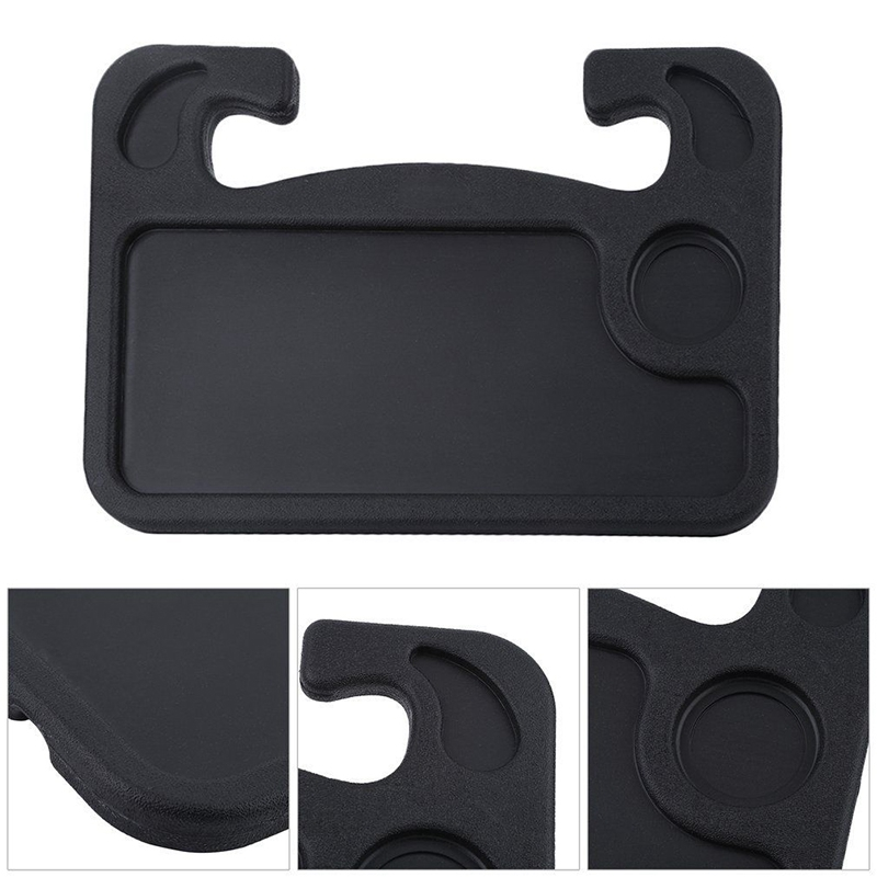 Learned Vehemo Car Interior Accessories Universal Car Laptop Stand Notebook Desk Steering Wheel Tray Table Food Drink Holder Stand Drinks Holders