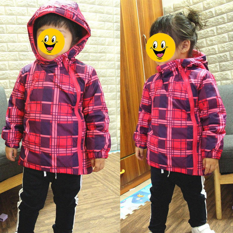 d9ef57d3c children kids girls autumn spring plaid jacket