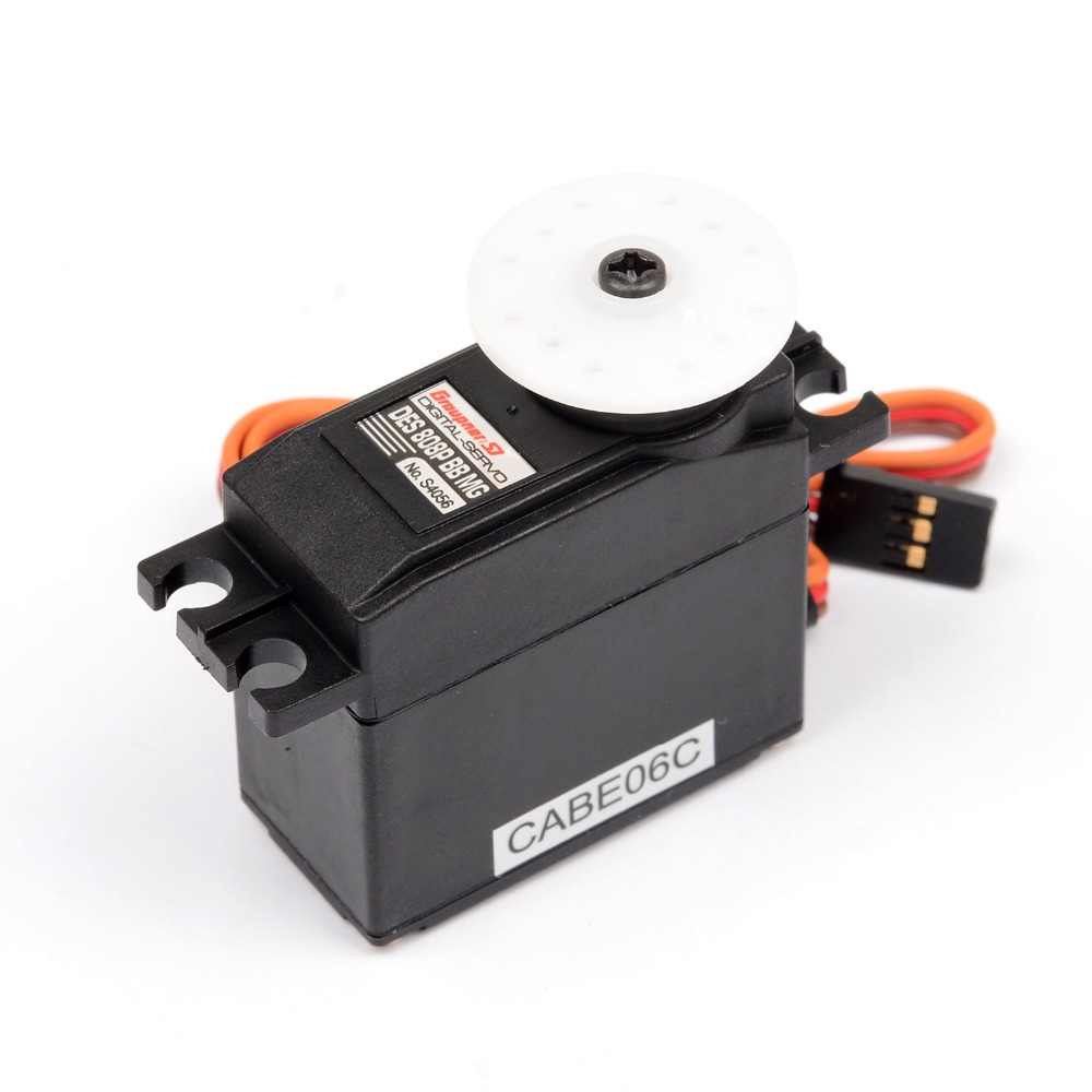 Graupner DES 808P BBMG High Speed Coreless 19.5mm Digital Servo Metal Gear High Torque Servo For HPI XL Helicopter/Car/Boat 35kg high torque coreless motor servo rds3135 180 deg metal gear digital servo arduino servo for robotic diy rc car