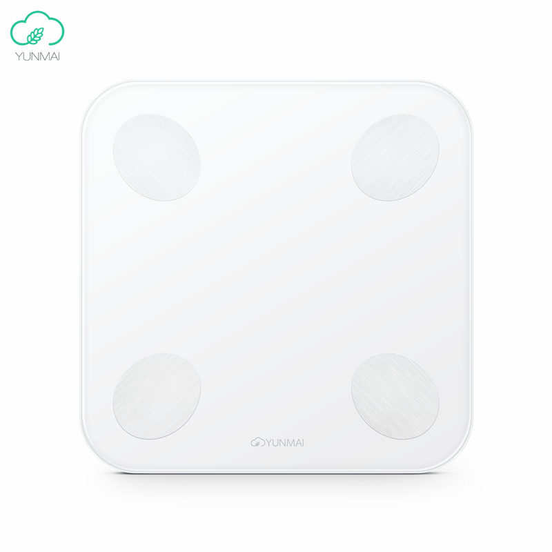 Original Xiaomi YUNMAI Balance Smart Body Fat Weight Scales Mini 2 Health Digital Weighting Fitness Scale English APP Control mini smart weighting scale digital household body scale lcd display electronic weight balance health care new