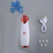 Электрический Очиститель пор для лица для удаления угрей, акне экстрактор USB Перезаряжаемый очиститель кожи набор косметических принадлежностей
