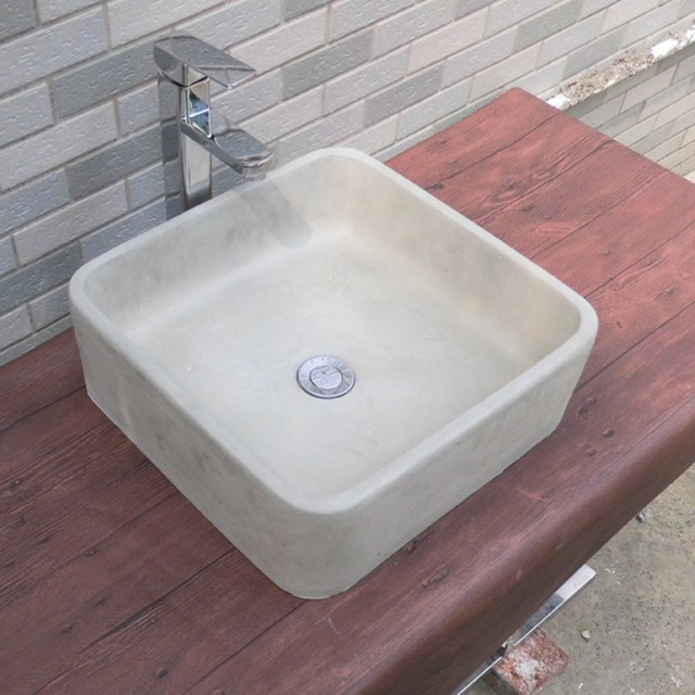 Beau Concrete Sink Molds Silicone Rubber Molds Cement Washbasin Silicone Mold  Home Decoration 40*40cm