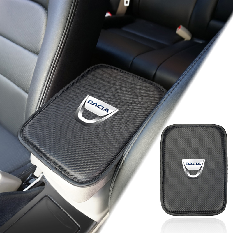 Car Accessories Auto Interior Supplies Universal Armrest Box Cover For Dacia Duster Logan Sandero 2 Mcv Sandero Car Styling