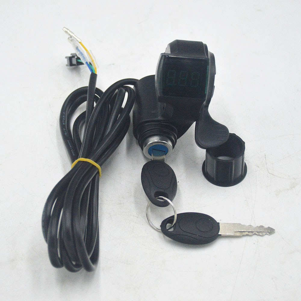 Wuxing Finger Thumb Throttle 20-22mm Handlebar For Electric Bicycle Scooter Bike