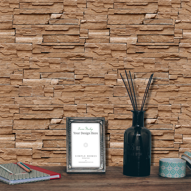 حجر الطوب جدار خلفية لفة papel دي parede ثلاثية الأبعاد غرفة المعيشة حائط الخلفية فن الديكور ورق حائط ST-1031 5