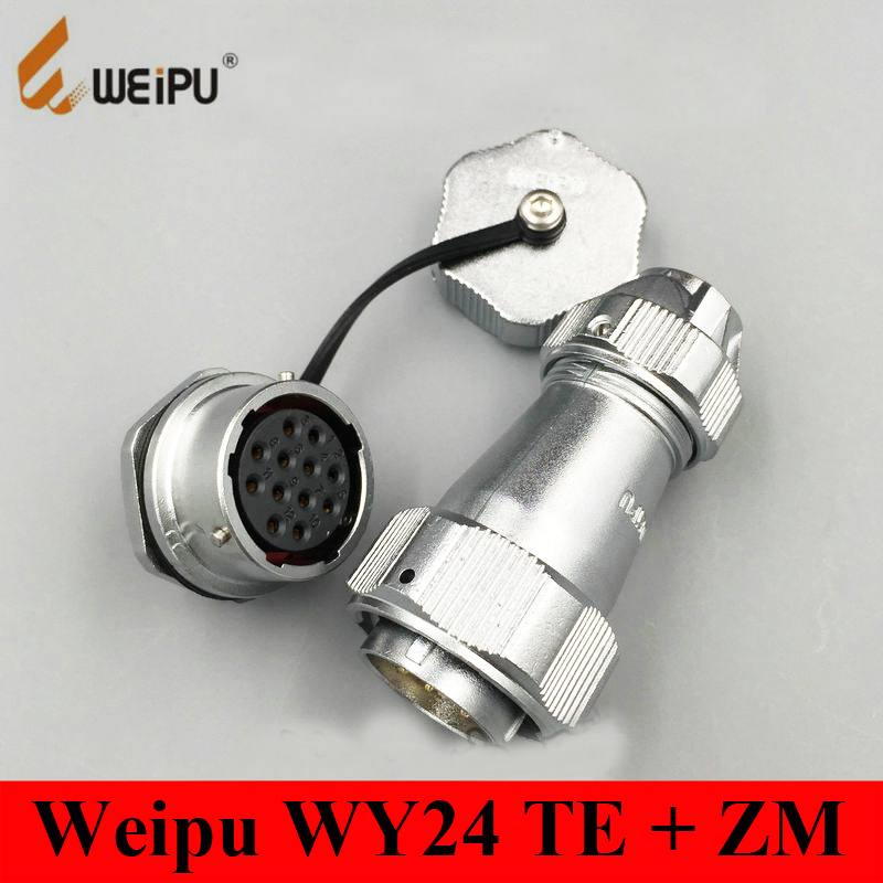 Connectors Original Weipu Connector Wy24 Tu 2 3 4 9 10 12 19 Pin Tu Male Angled Clamping Cable Plug Wy24 Tu Connector Waterproof Ip66