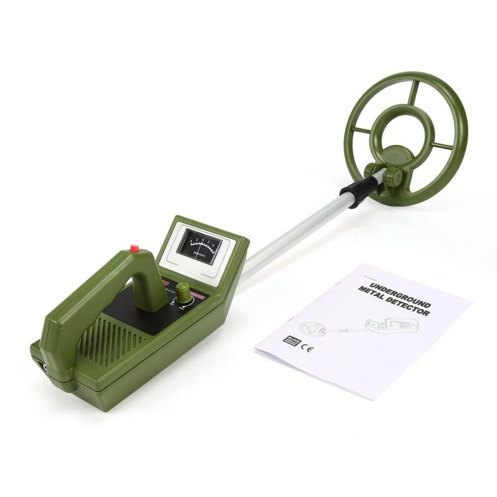 Professional Portable Mini Underground Metal Detector Handheld Treasure Hunter Gold Digger Finder Length Adjustable