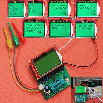 2016 EZM328 (GM328R) transistor tester/ESR/medidor de freqüência/onda quadrada gêneros