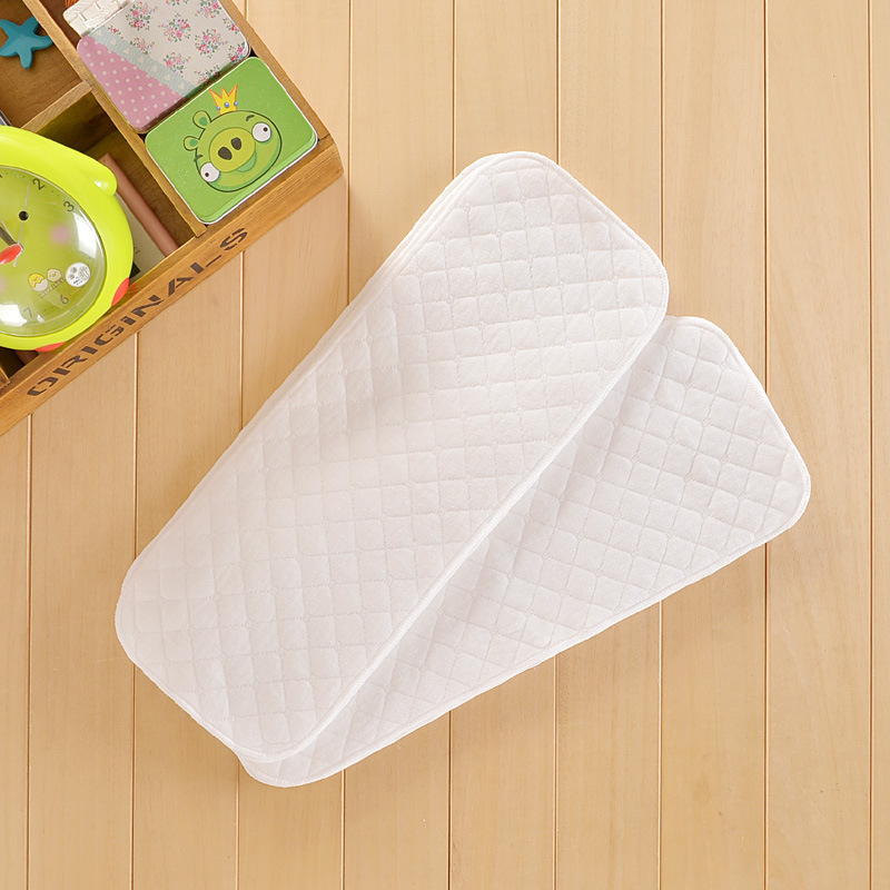 1pcs Reusable Baby Diapers Cloth Diaper Inserts 3 Layer Insert 100% Cotton Washable Baby Care Products 16x46cm
