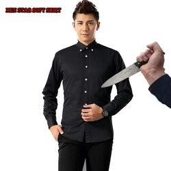 Nieuwe Zelfverdediging Tactische SWAT Gear Anti Cut Mes Slip Shirt Anti Steekwerende lange Mouwen Mannen shirt Beveiliging kleding