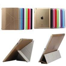 TLP-BX Tablet Utrathin 4 Formas Diseño Stands PU de Cuero de Alta Calidad case for ipad 4 3 2 cubierta elegante para ipad3 ipad4 ipad2