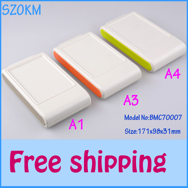 3 pcs/lot free shipping plastic enclosure wall electrical enclosure plastic box for electronic project 1 piece 171X98X31 MM 1 piece free shipping plastic enclosure for wall mount amplifier case waterproof plastic junction box 110 65 28mm
