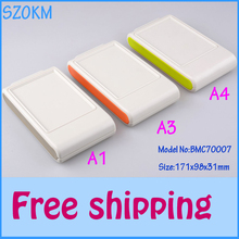 3 pcs/lot free shipping plastic enclosure wall electrical enclosure plastic box for electronic project 1 piece 171X98X31 MM