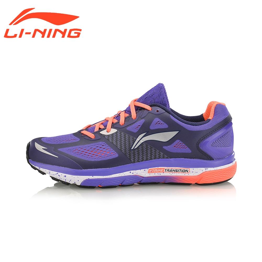 Li-Ning Femmes de Coussin Chaussures De Course Léger Textile & TPU Sneakers Respirant Sport Chaussures Doublure ARHM076