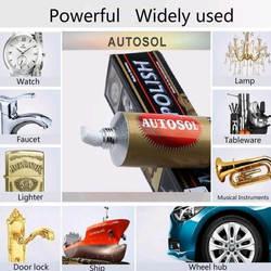 Новый 1 шт. 75 мл 100 г Autosol крем нож полировки воск зеркало из металла нержавеющая сталь часы паста