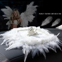 Car Ornament Crystal Diamond Cute Dog Perfume Ornament Automobiles Interior Dashboard Doggy Swing For Women Girls