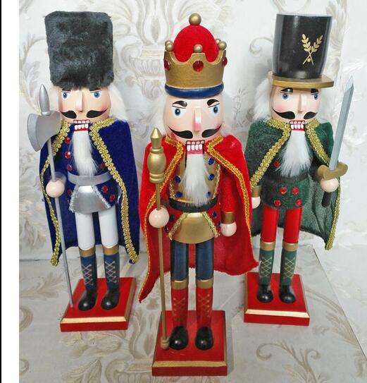 Artesanía regalos Inglaterra remiendo europeo 38 cm Cascanueces ...