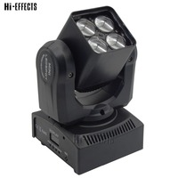 4 eyes led moving head light 4x10w led moving strong beam light dmx spot light for stage performance lighting effect