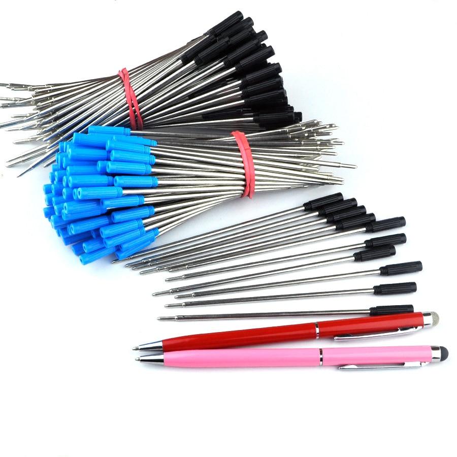 1000PCS Cross style Standard Black Ballpoint pen Refills Nib Medium New Suitable for all types of