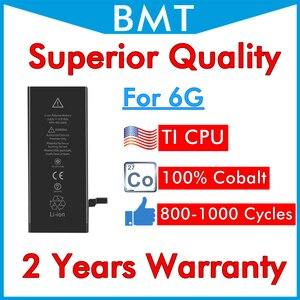 Image 1 - BMT เดิม 10pcs คุณภาพสูงสำหรับ iPhone 6 6G 1810mAh iOS 13 เปลี่ยน 100% Cobalt CELL + ILC เทคโนโลยี
