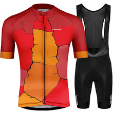 Jersey hombre Team Colnago Runchita Cycling Set Short Sleeve Bib Shorts Breathable Kits Maillot Ciclismo