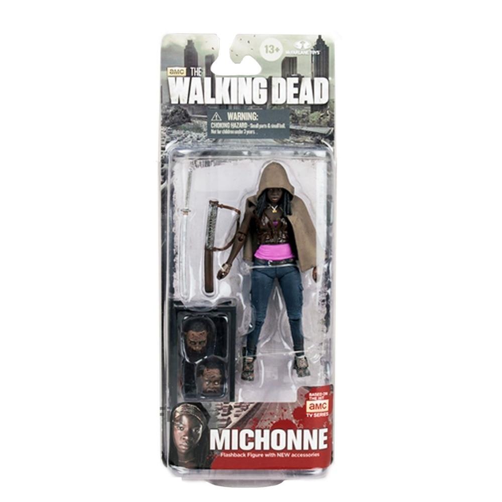 TMcFarlane Toys the Walking Dead TV Series 6 Michonne Action Figure Free Shipping худи print bar the walking dead