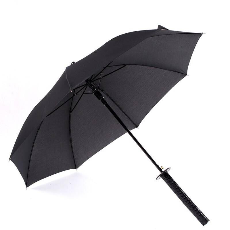 de Vento Sol Chuvoso Guarda-chuva Espada Samurai