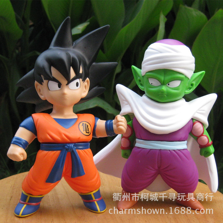ФОТО 2pcs17-19cm Dragon Ball Z  The Son Gohan Action Figure PVC Collection figures toys for christmas gift brinquedos with Retail box