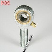 4 pcs Frete grátis POS8 8mm mão direita Embutidos linha rod termina com rosca fêmea rótula
