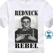 823ce3adff74 T Shirt 2017 New O-Neck Elvis Redneck Rebel Mugshot T Shirt Rockerotolo  Legend 3D