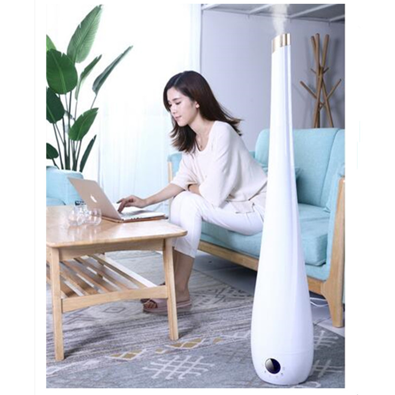 220V Automatic Air Humidifiers Intelligent Mechanics 8L Air Purifiers Ultrasonic Air Humidifier 112cm height EU/AU/UK/US Plug цены