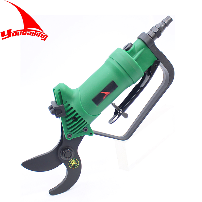 YOUSAILING Quality Pneumatic Pruning Shear Branches Scissors Garden Tools Air Nipper Blade Tools Garden Scissors