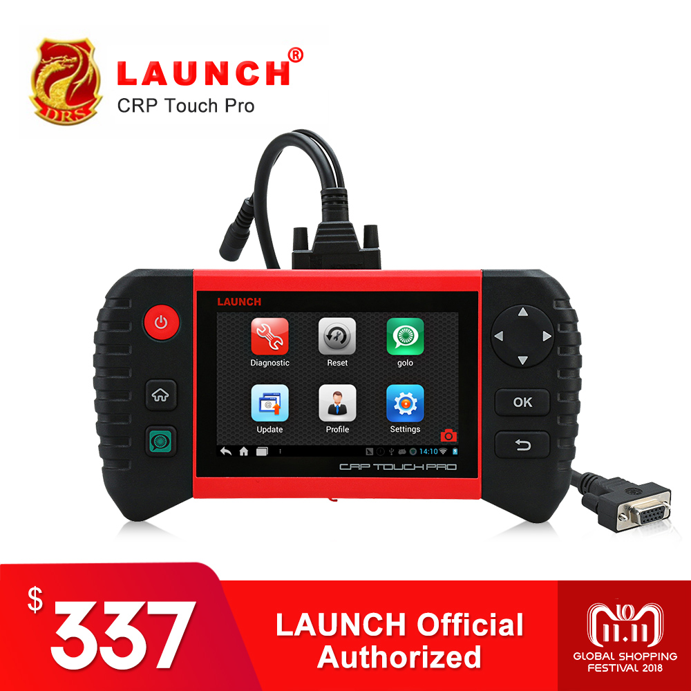 Launch Creader CRP Touch Pro OBD2 Scanner OBDII Diagnostic Tool WiFi Auto Code Reader DPF Regeneration Automotive Tools Tester syma x5uw fpv rc quadcopter rc drone with wifi camera 2 4g 6 axis mobile control path flight vs syma x5uc no wifi rc helicopter