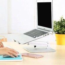 height adjustable 20kg aluminum laptop desk stand tablet bracket foldable monitor mount compact pad desk support Led bracket